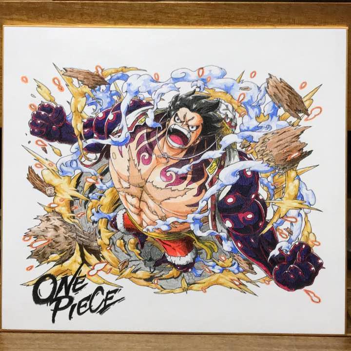 メルカリ Inflame2017 One Piece イラスト ルフィ ギア4 趣味