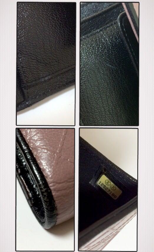 357503eaf52c メルカリ - 【美品】人気色 シャネル 三つ折り 長財布 ビコローレ 薄紫色 ...