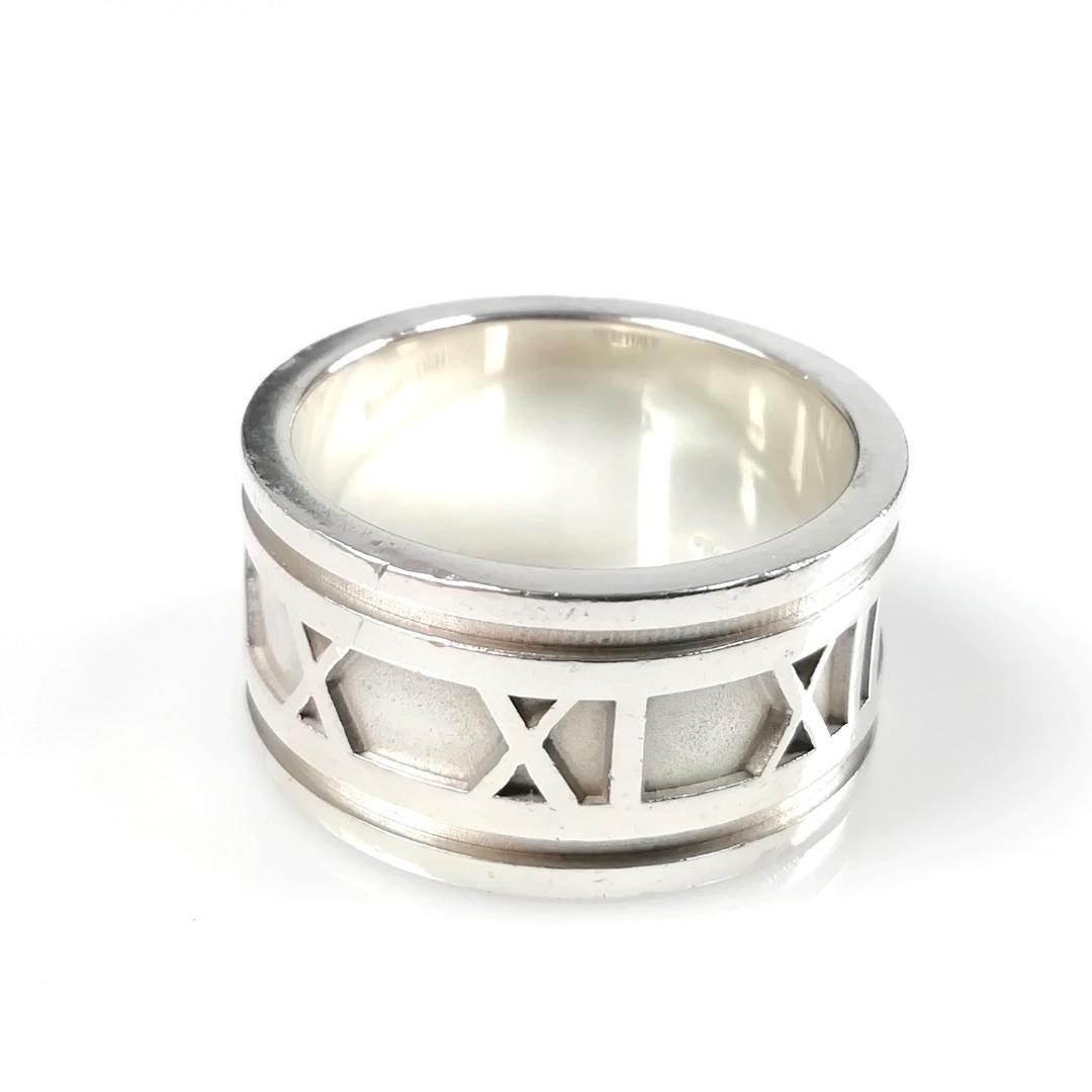 outlet store ce1b6 8e38a 美品 ティファニー アトラス リング 18号 指輪 メンズ VJ34(¥6,800) - メルカリ スマホでかんたん フリマアプリ