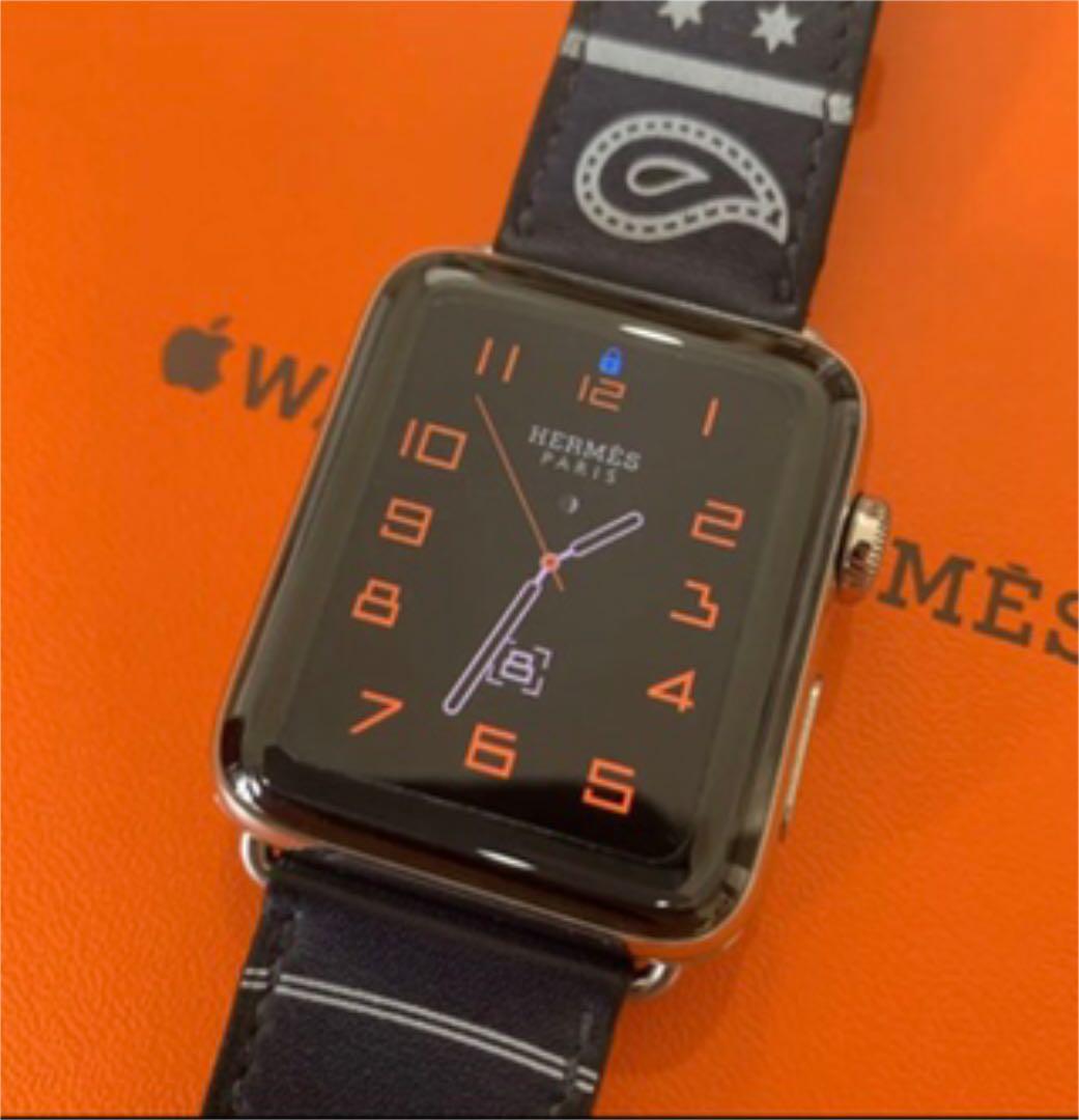 finest selection d1fdd 2f2c0 エルメス アップルウォッチ HERMES Apple Watch エプロンドール(¥ 99,999) - メルカリ スマホでかんたん フリマアプリ