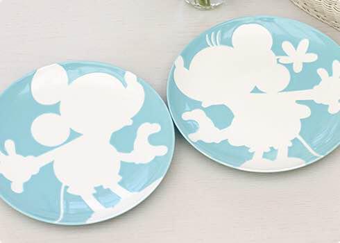 outlet store e7a91 81059 ディズニー ミッキー ミニー プレート 皿 食器 ティファニーブルー(¥1,500) - メルカリ スマホでかんたん フリマアプリ