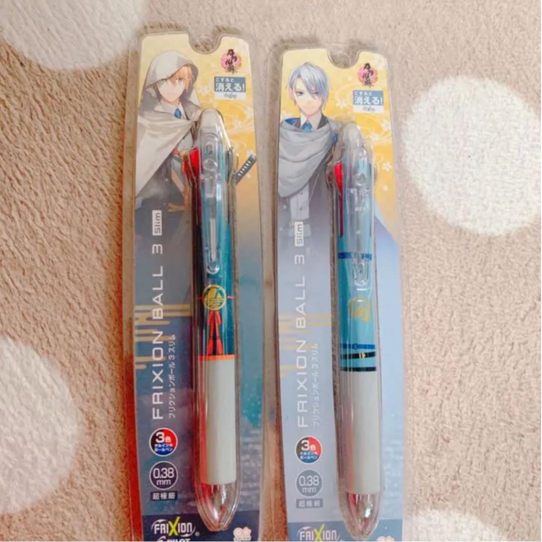 フリクション 刀剣 乱舞 刀剣乱舞のフリクションボールペンについてです。第2弾が8月頃に発売さ