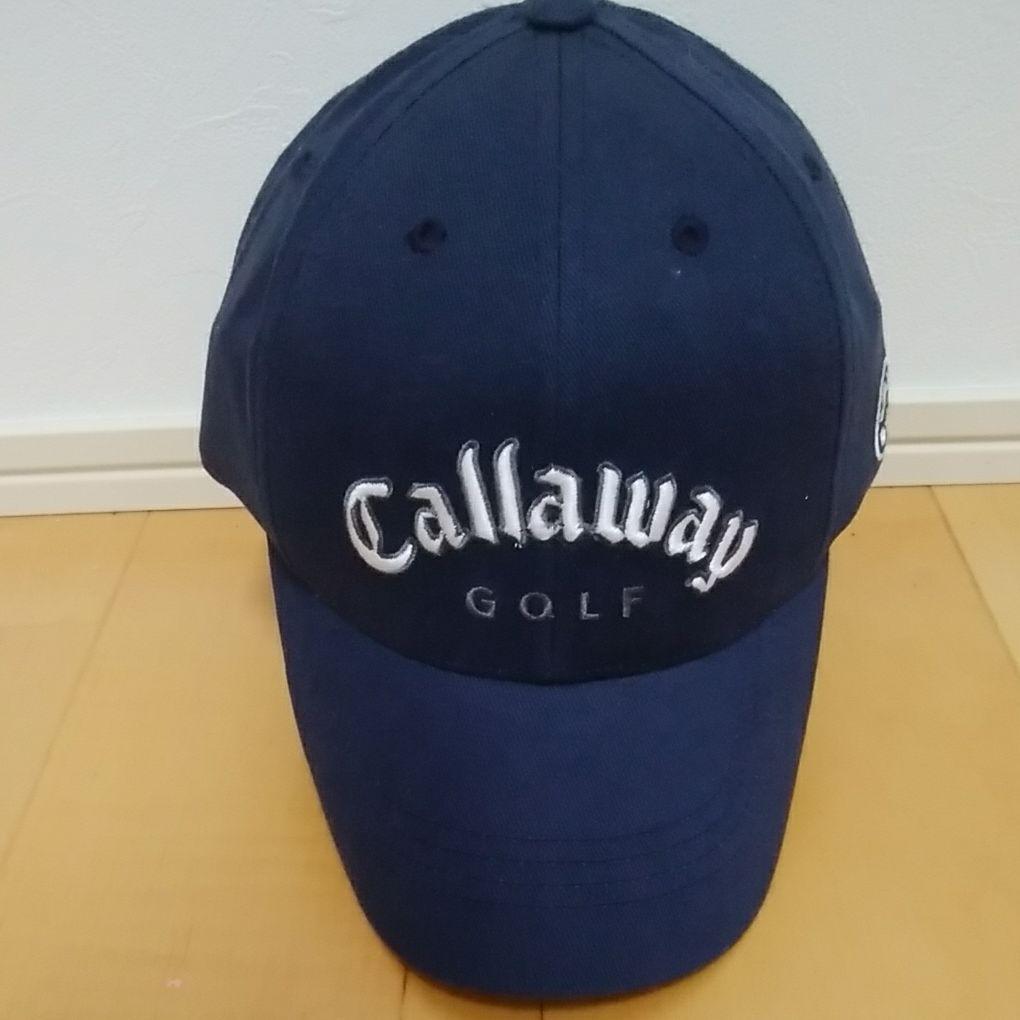ffb5610329955 メルカリ - キャロウェイ ゴルフキャップ ネイビー 【キャロウェイゴルフ ...