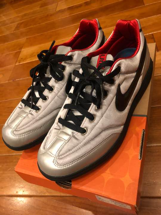 hot sale online 0e474 54be1 NIKE tiempo wc Manchester スニーカー(¥7,100) - メルカリ スマホでかんたん フリマアプリ