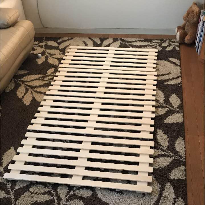 メルカリ 布団 すのこ シングルサイズ ニトリ すのこベッド