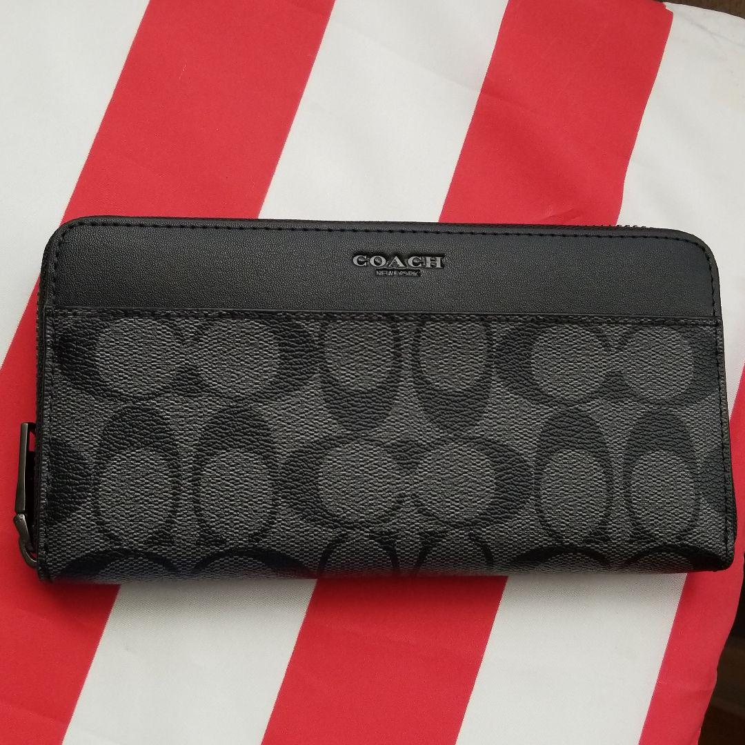new style ccbf4 30763 専用出品『コーチ 長財布 新品 F75000 ブラック アウトレット』(¥9,000) - メルカリ スマホでかんたん フリマアプリ