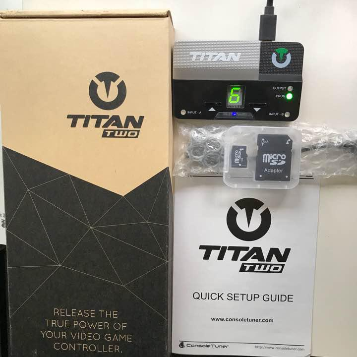 TITAN TWO DEVICE for XIM APEX&XIM4(¥ 18,500) - メルカリ スマホでかんたん フリマアプリ