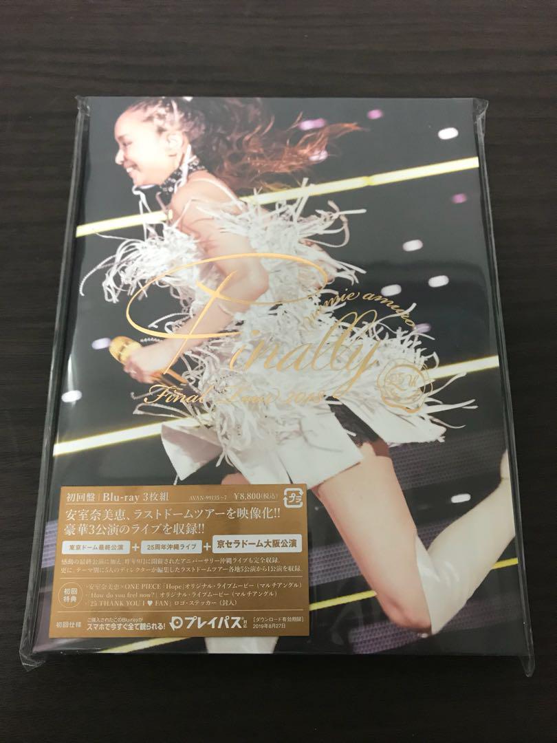 9ba73c77469f6 メルカリ - 安室奈美恵「Final Tour 2018〜Finally〜」 Blu-ray ...