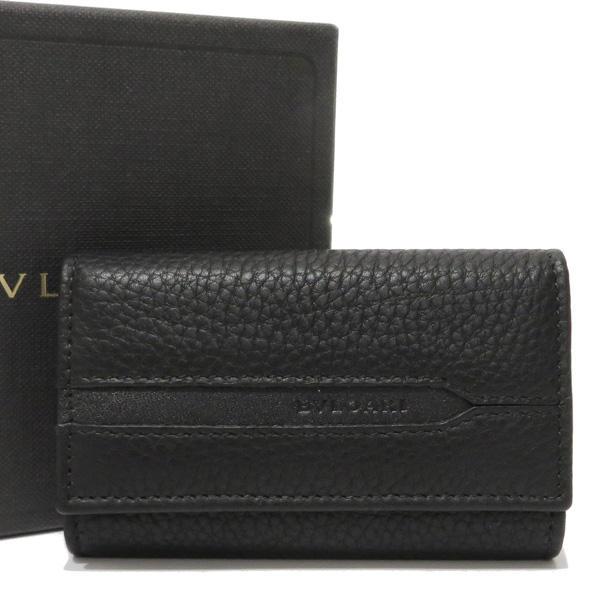 new products 5c8eb 09d61 BVLGARI(ブルガリ)レザー 6連キーケース ブラック メンズC19254C(¥18,000) - メルカリ スマホでかんたん フリマアプリ