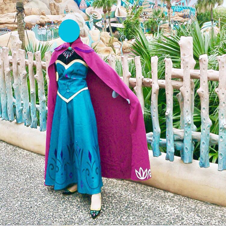 エルサ 戴冠式 大人 ドレス(¥15,000) , メルカリ スマホでかんたん フリマアプリ