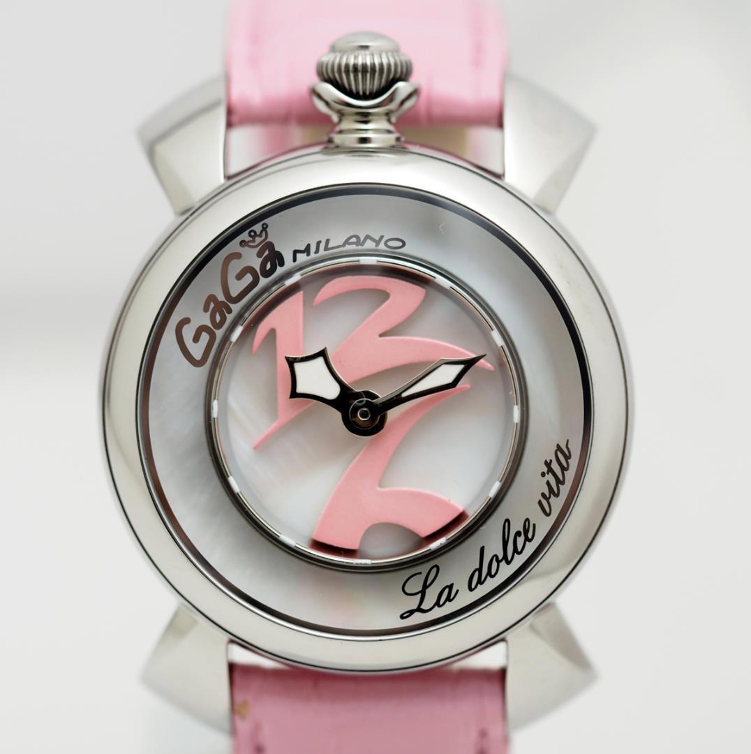 meet f5304 8123e ガガミラノ 腕時計 レディース(¥50,600) - メルカリ スマホでかんたん フリマアプリ