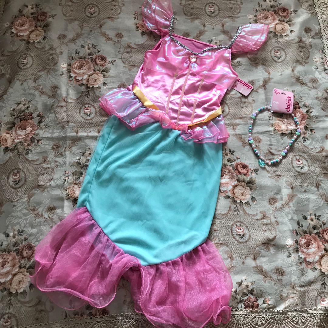 59a11bd17e2d4 メルカリ - 新品 Clair s クレアーズ マーメイド ドレス  キッズ服 ...