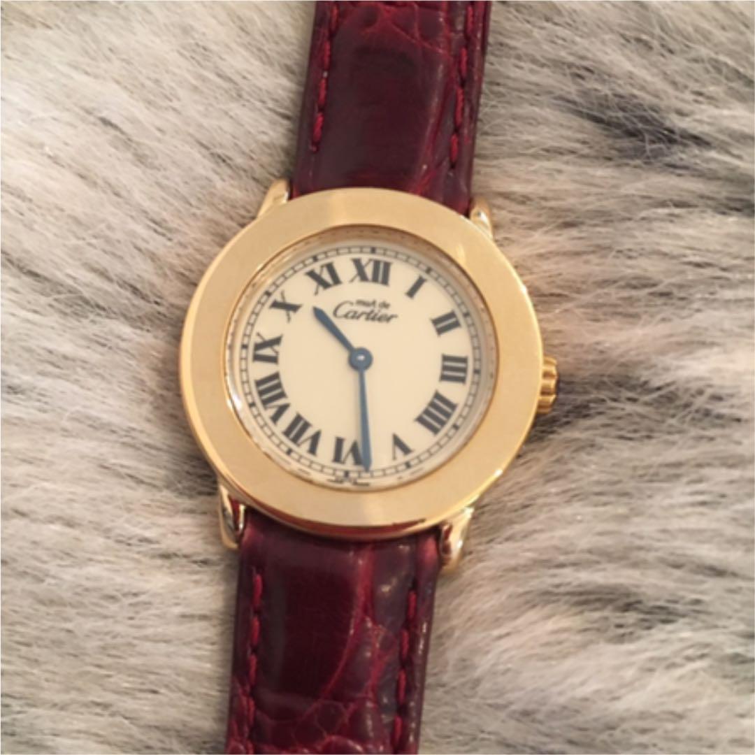 factory authentic 4525f e7cc9 【お値下げ中】カルティエ must de Cartier アンティーク時計(¥125,700) - メルカリ スマホでかんたん フリマアプリ