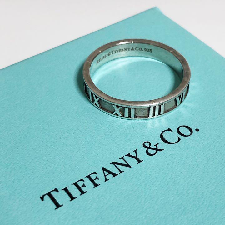 new arrival b53c9 f20ab Tiffany ティファニー アトラス リング メンズ 大きめ(¥3,200) - メルカリ スマホでかんたん フリマアプリ