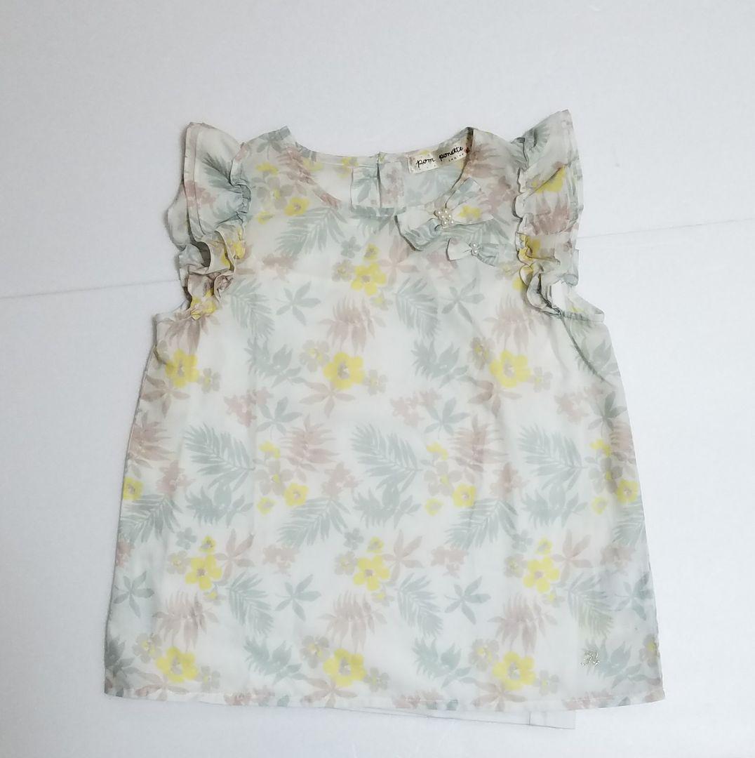 265e4b59b8d68 メルカリ - 140cmポンポネットジュニア花柄トップス  トップス(Tシャツ ...