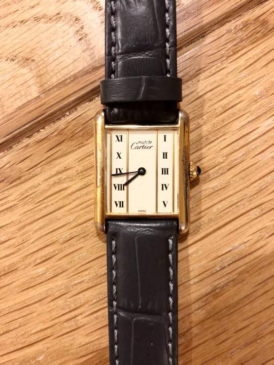 low priced be3e9 24907 カルティエ タンクアンティーク腕時計(¥50,000) - メルカリ スマホでかんたん フリマアプリ