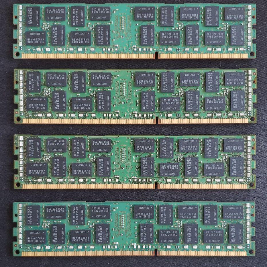 メルカリ - ACTICA DDR3 8GB×4 32GB 1600Mhz ECCメモリ 【PCパーツ ...