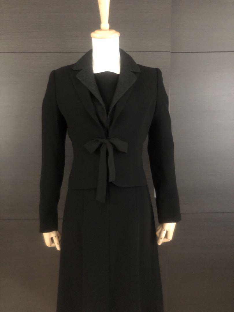 f61f5bec72a92 メルカリ - ニュイ ブラックフォーマル スーツ 3点セット  スカート ...