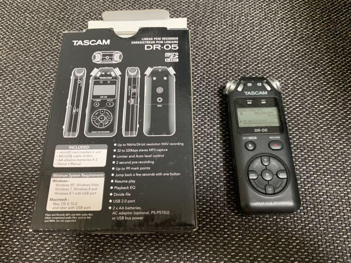 Tascam Dr 05 With Microsd Limited Edition Series Collection Special Anniversary
