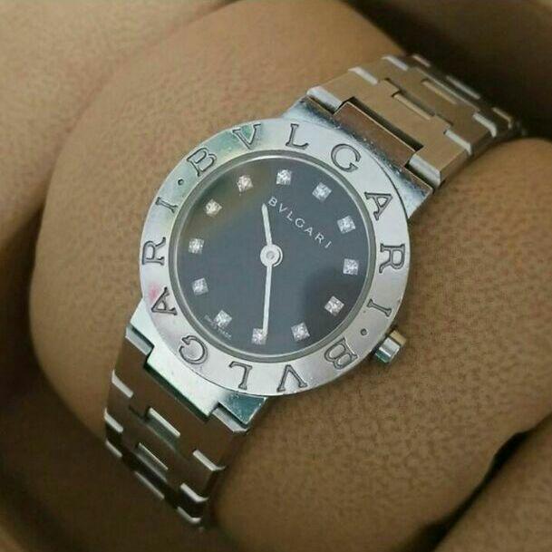 quality design a974e 9d2a6 ダイヤ12P腕時計 BVLGARI BB 23 SS ブルガリ ウォッチ(¥125,500) - メルカリ スマホでかんたん フリマアプリ
