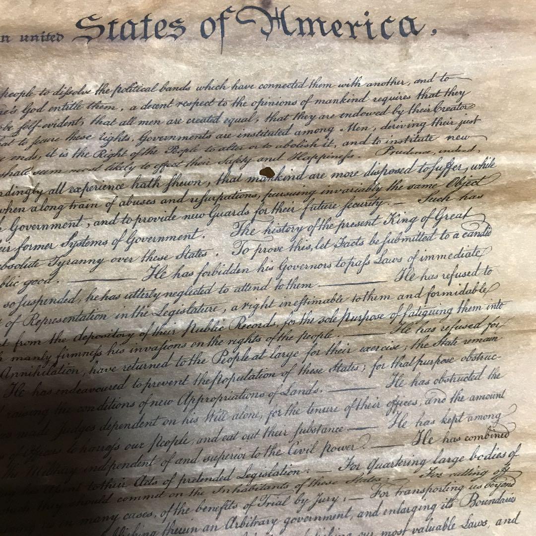 宣言 アメリカ 独立 アメリカ独立宣言