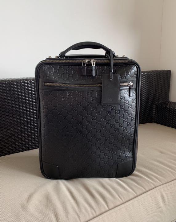 quality design b116f 0c80b 定価52万円 GUCCIシマ キャリーケース スーツケース トラベルバッグ(¥159,800) - メルカリ スマホでかんたん フリマアプリ