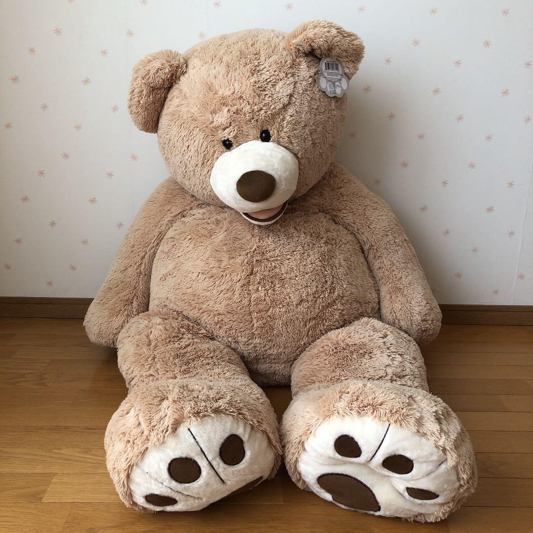 メルカリ コストコ クマ ぬいぐるみ 135センチ くま 5 999 中古や未使用のフリマ