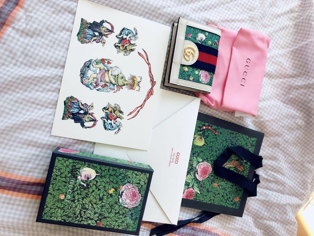 timeless design b4a80 0fd2e 【値下げ】GUCCI ヒグチユウコ 財布(¥65,000) - メルカリ スマホでかんたん フリマアプリ