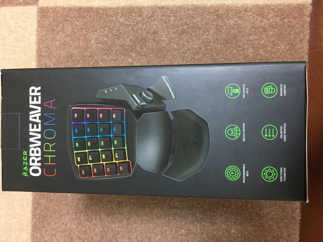 Razer Orbweaver Chroma 左手用キーパッド(¥12,500) - メルカリ スマホでかんたん フリマアプリ