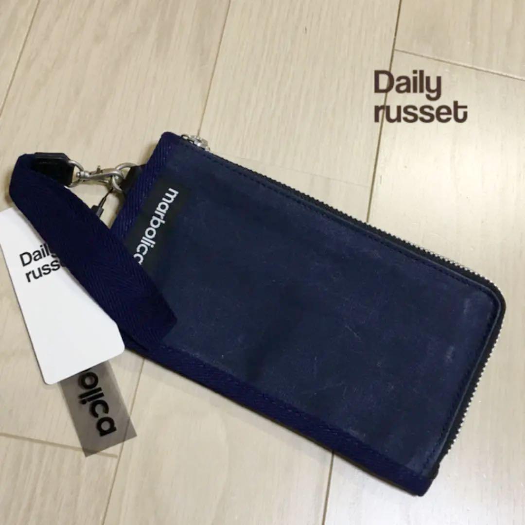 1ea6b1aef1fc メルカリ - 新品 デイリーラシット マルボリカ 財布 ウォレット ネイビー ...