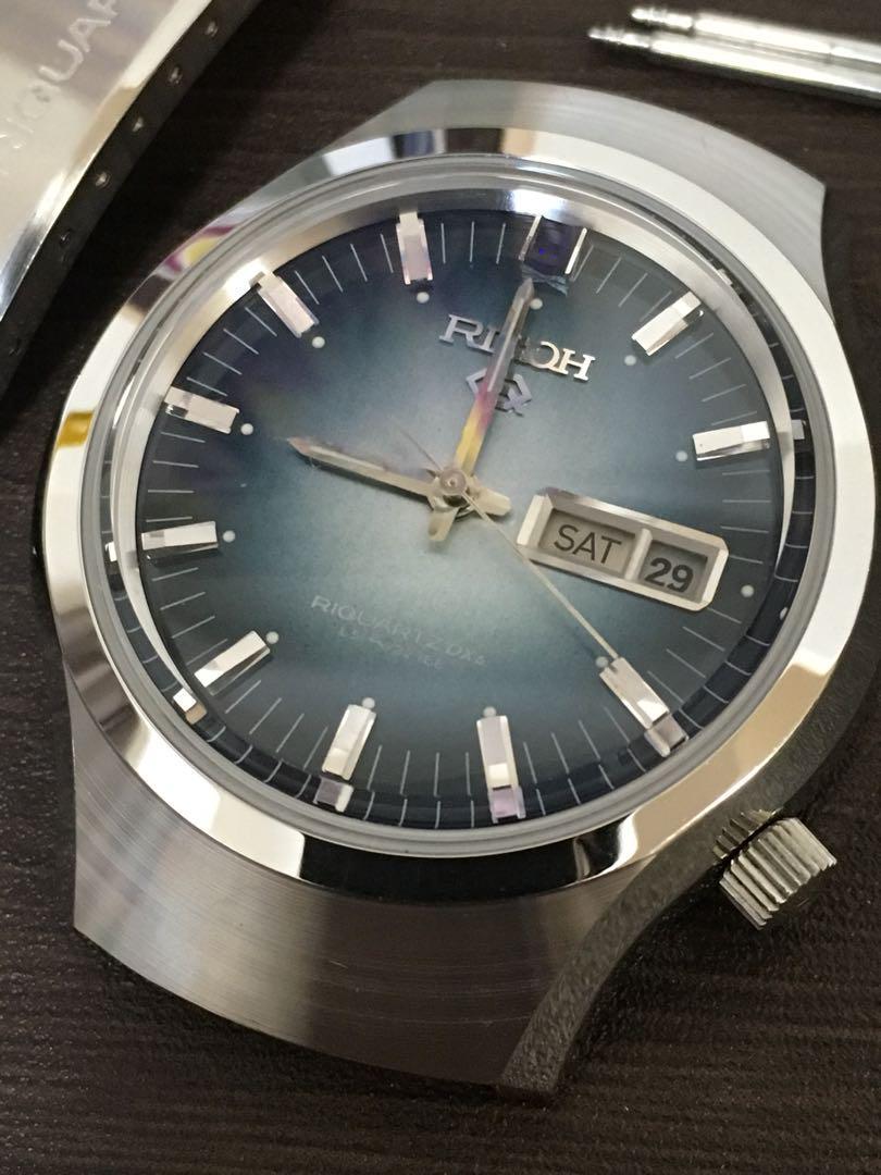 info for dec6d 4fe38 未使用RICHOリコー時計ジャンク(¥ 5,772) - メルカリ スマホでかんたん フリマアプリ