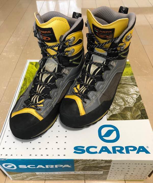 buy online a7165 9c85f SCARPA REBEL GTX/BLACK-GRAY