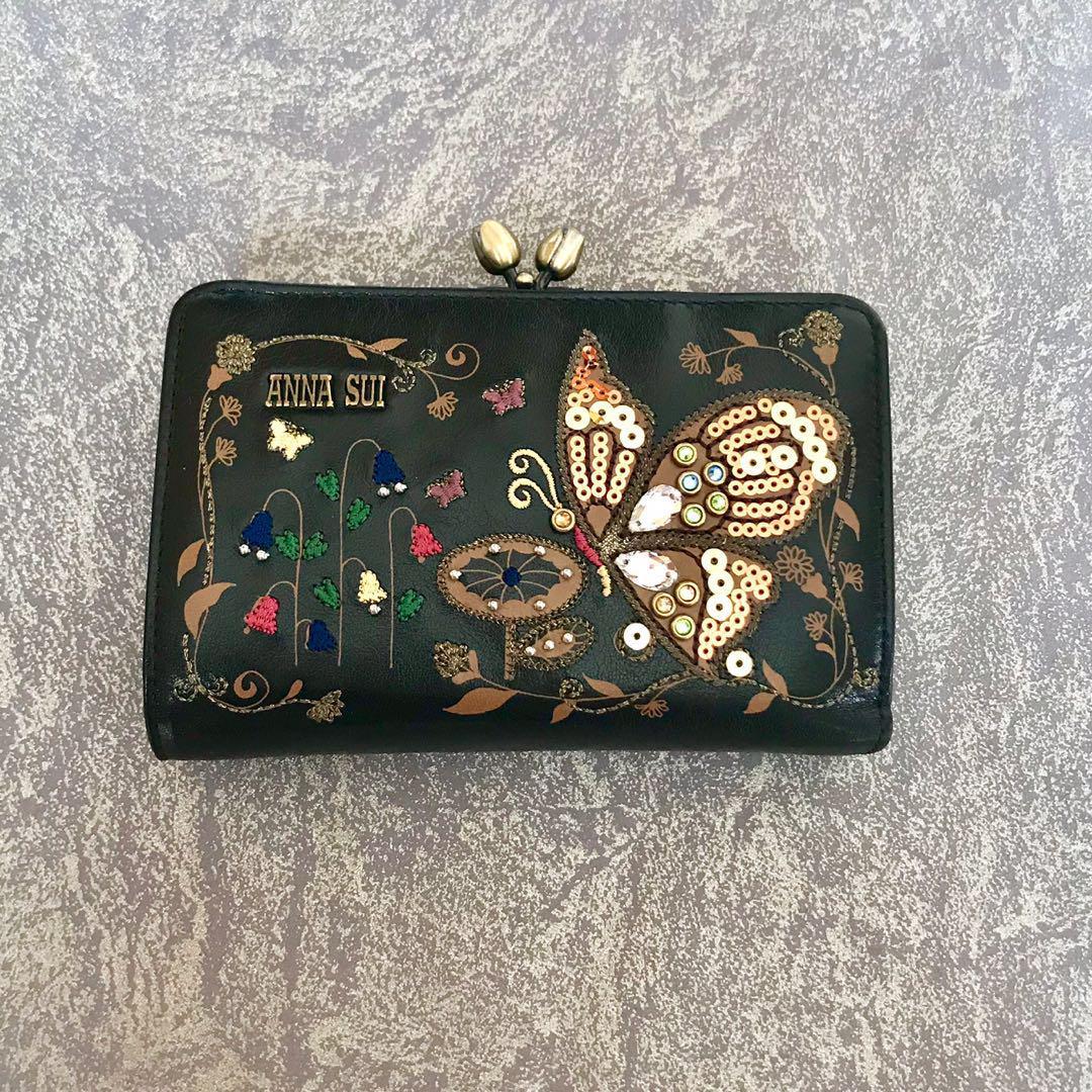 low priced 685c8 07921 【新品】アナスイ 財布 リリー刺繍 バタフライ(¥11,000) - メルカリ スマホでかんたん フリマアプリ