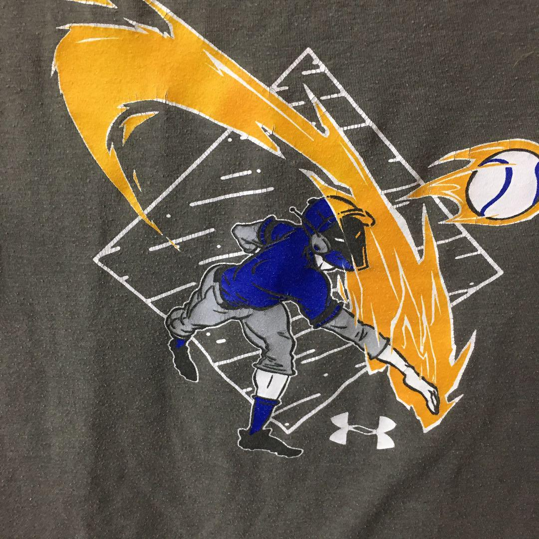 Under Armour Unisex Kids Back Box Graphic Ss Short-Sleeve Shirt