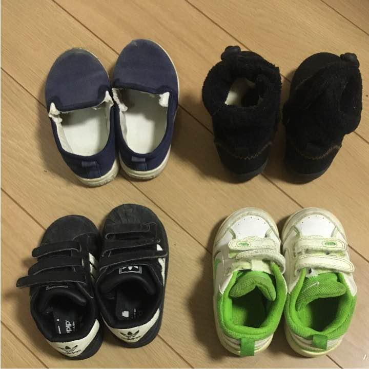 bd181824597d7 メルカリ - 子供用スニーカー ブーツ ナイキNIKE 3足セット 【ナイキ ...