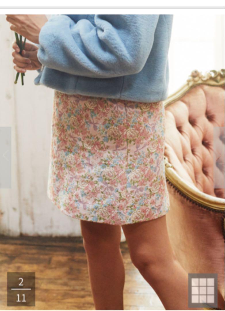 "áルカリ ¸ャガードスカート Maison De Fleur Petite Robe ßニスカート 4 500 ĸå¤ã'""未使用のフリマ"