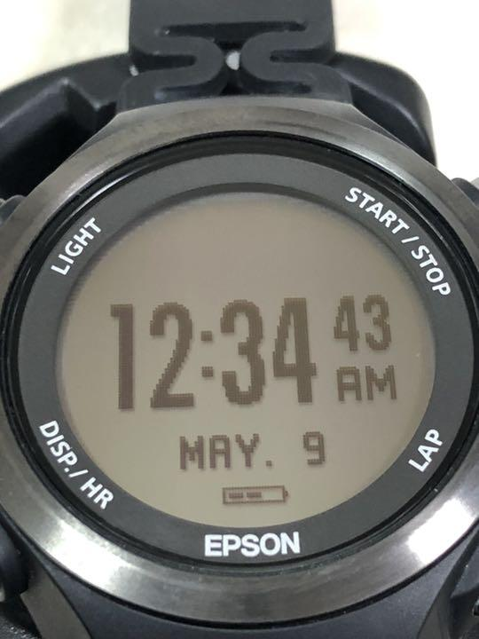 6757c391c6 メルカリ - EPSON エプソンWristableGPSランニングウォッチ SF-810 ...