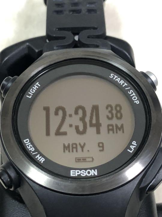 0d412b0047 メルカリ - EPSON エプソンWristableGPSランニングウォッチ SF-810 ...