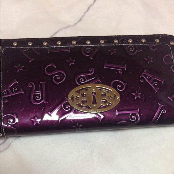 cheap for discount 8eaf4 68a35 ANNA SUI アナスイ 財布 長財布(¥3,999) - メルカリ スマホでかんたん フリマアプリ