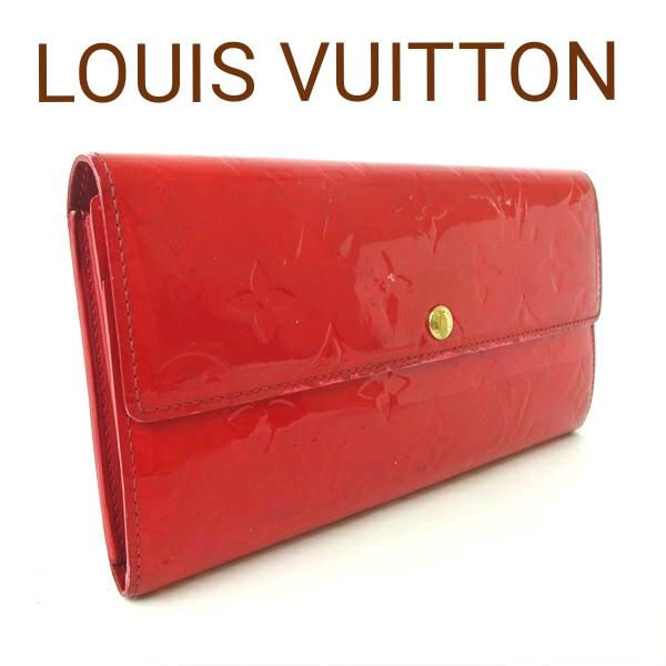 b123bff54ad0 メルカリ - LOUIS VUITTON ルイヴィトン 長財布 財布 ヴェルニ ...