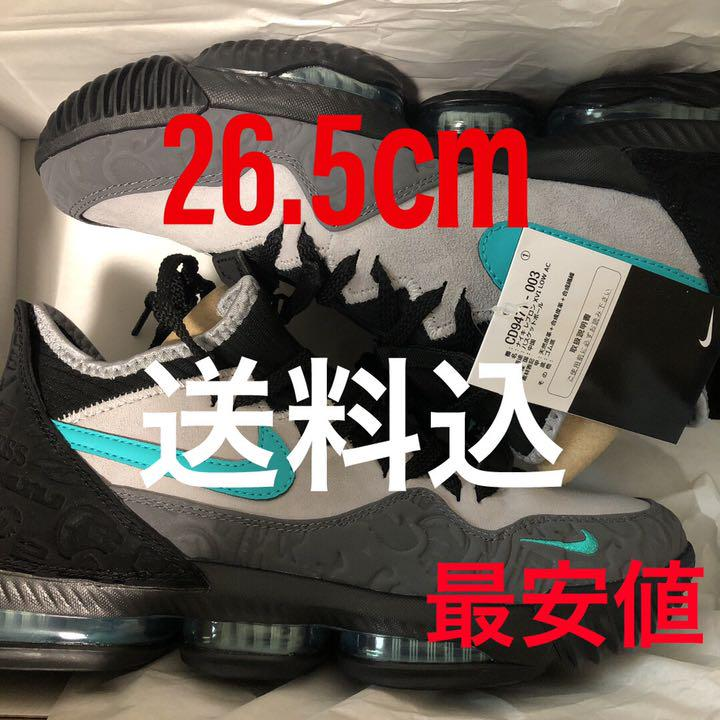 wholesale dealer bde29 37927 NIKE LEBRON XVI LOW AC CLEAR JADE 定価販売