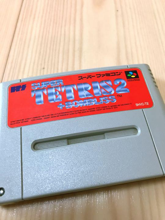 スーパーファミコン テトリス
