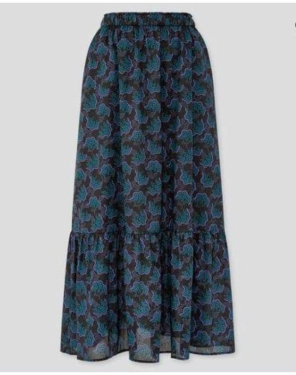 ユニクロ ティアード ロング スカート