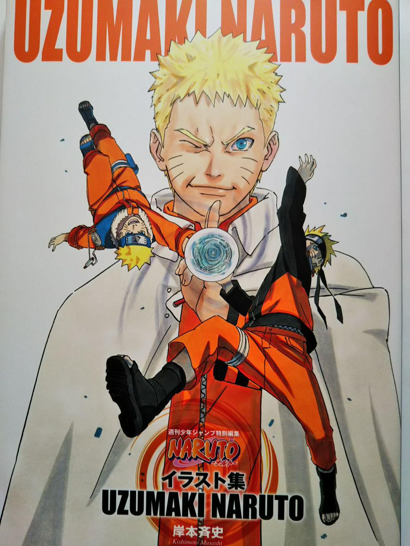 メルカリ Naruto ナルト イラスト集uzumaki Naruto 少年漫画 600