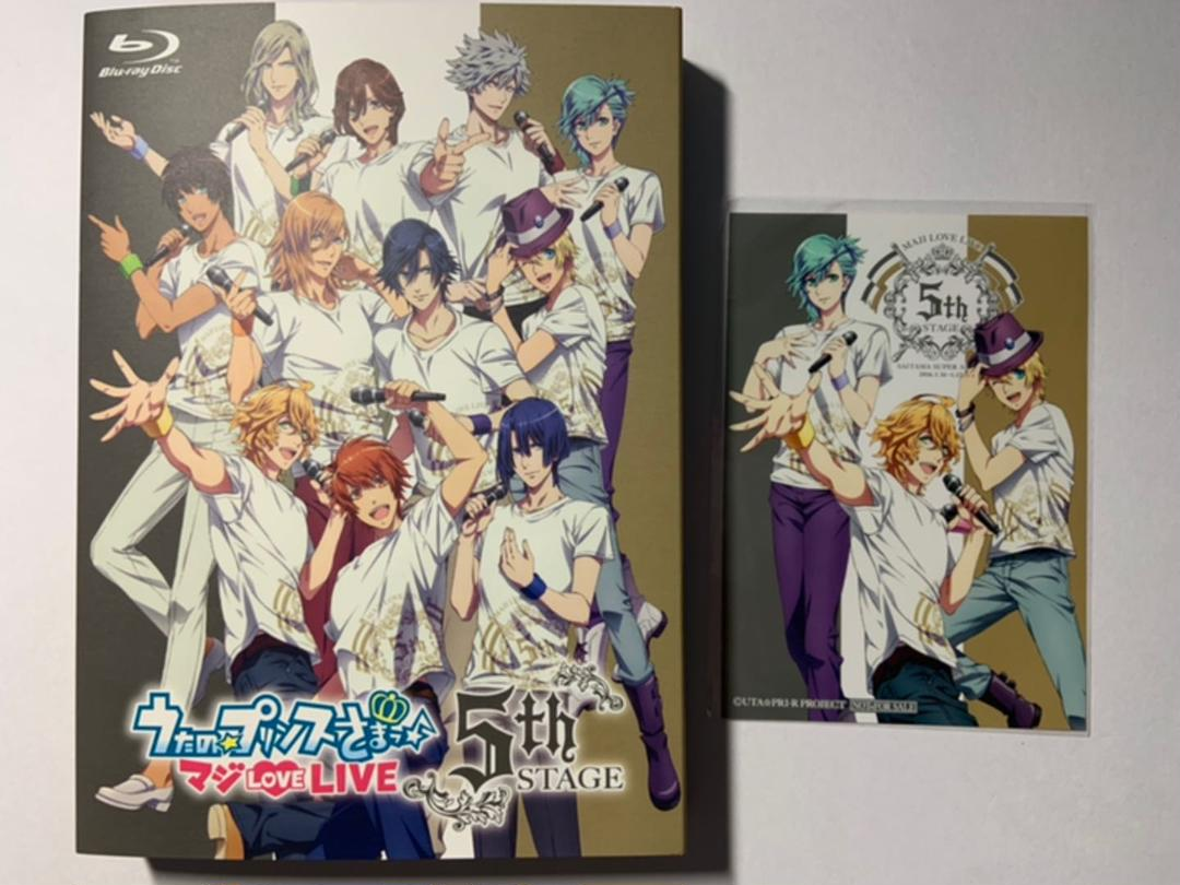Uta No Prince Sama Maji Love Live 5th Stage Blu-ray Saitama Super Arena Japan