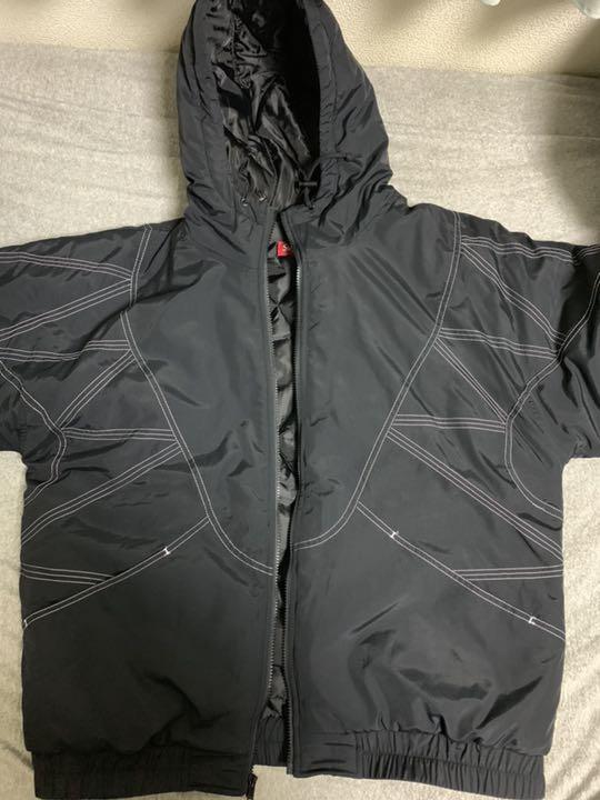 46b40450 メルカリ - supreme zigzag stitch puffy jacket 【ダウンジャケット ...