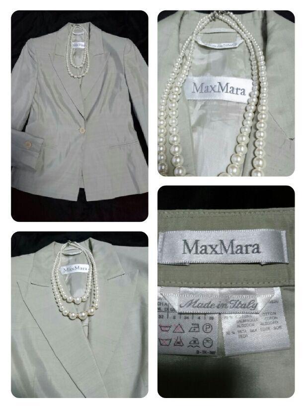 622d9702e897 メルカリ - Max Mara 美品 高級スーツ 価格26万 シルクコットン 春夏物 ...
