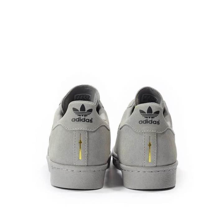 adidas superstar grey berlin