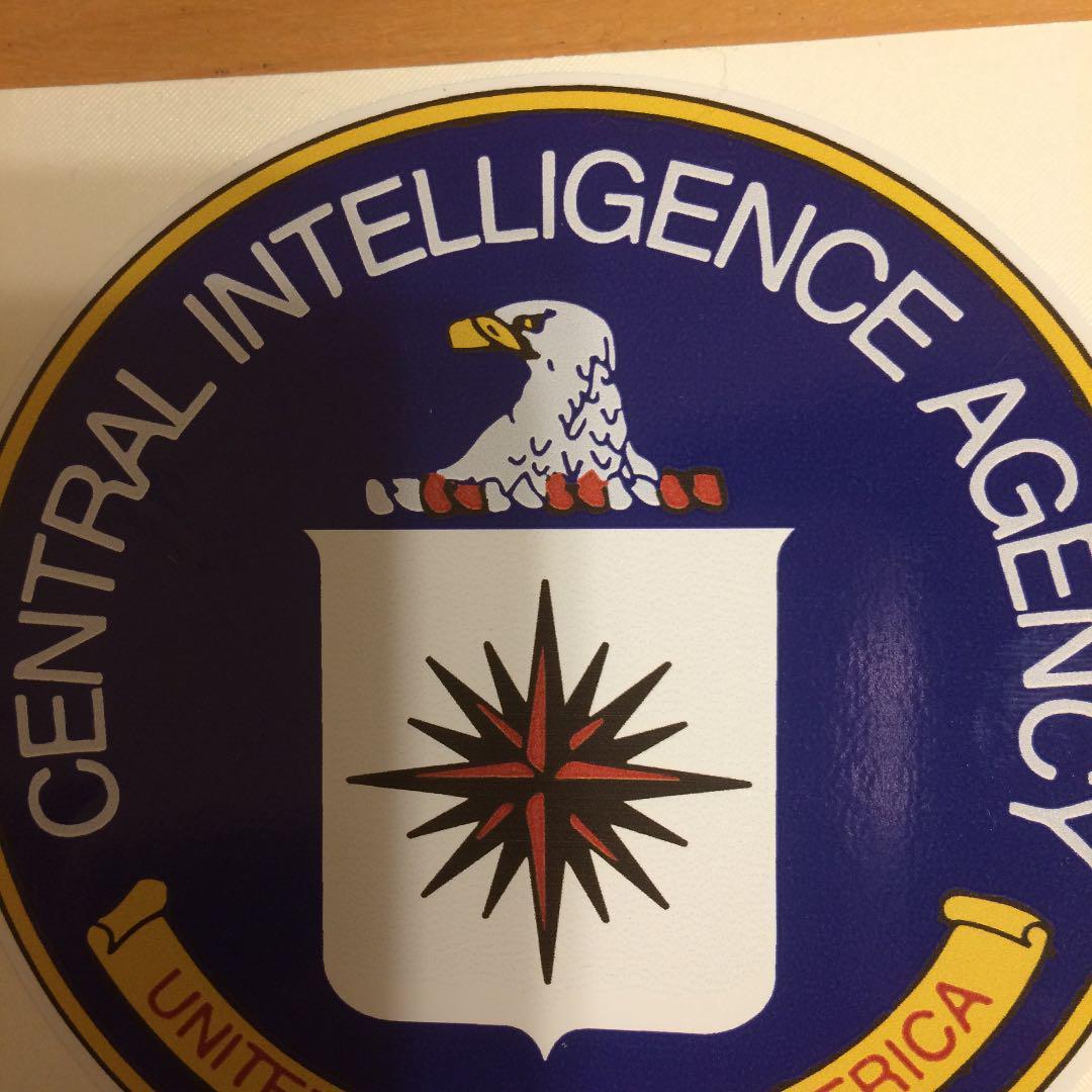 メルカリ - CIAアメリカ中央情報局 ステッカー 米国買付 【ミリタリー ...
