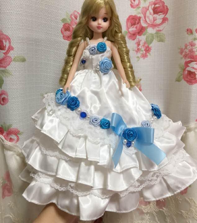 処分します。リカちゃん ハンドメイド ドレス(¥2,200) , メルカリ スマホでかんたん フリマアプリ